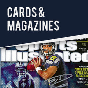 Shop Russell Wilson Autographed Cards and Magazines