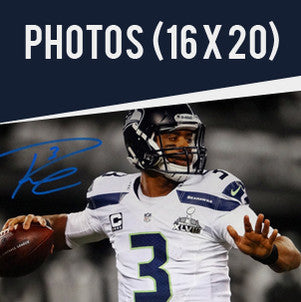 Shop Russell Wilson Autographed 16x20 Photos
