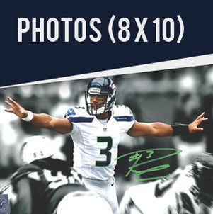 Shop Russell Wilson Autographed 8x10 Photos