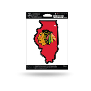 NHL Home State Vinyl Auto Decal
