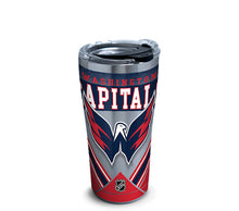 Load image into Gallery viewer, NHL® 20oz Stainless Steel Tumbler with Hammer Lid