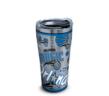 Load image into Gallery viewer, NBA® 20oz Stainless Steel Tumbler with Hammer Lid