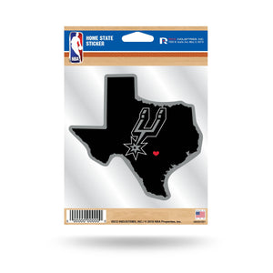 NBA Home State Vinyl Auto Decal