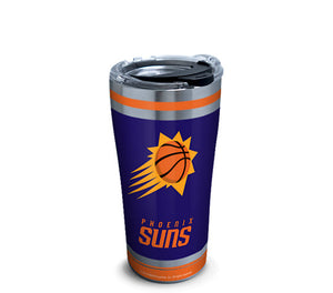 NBA® 20oz Stainless Steel Tumbler with Hammer Lid