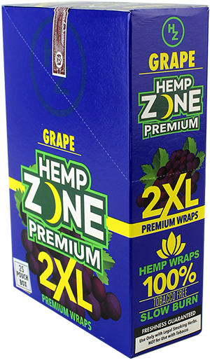 Hemp Wraps - Grape 2XL