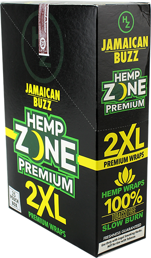 Hemp Wraps - Jamaican Buzz 2XL