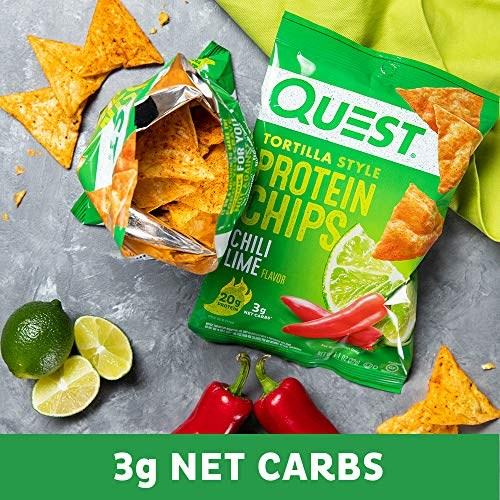 Quest Tortilla Case of 8