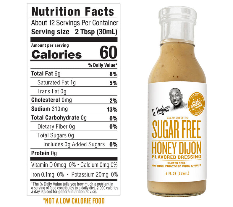 G Hughes Sugar Free Salad Dressing 355ml
