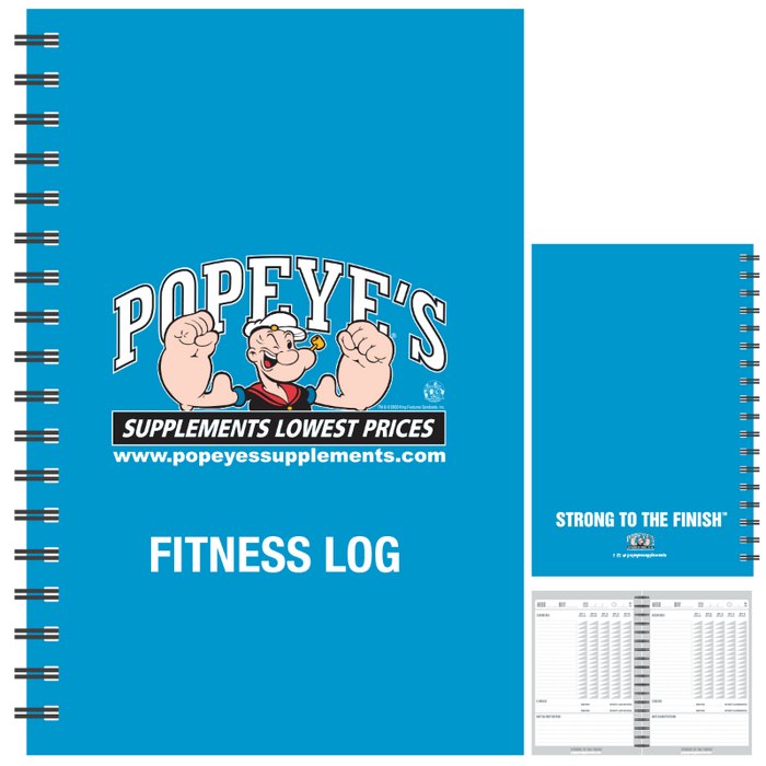 Popeye's Gear Log Book