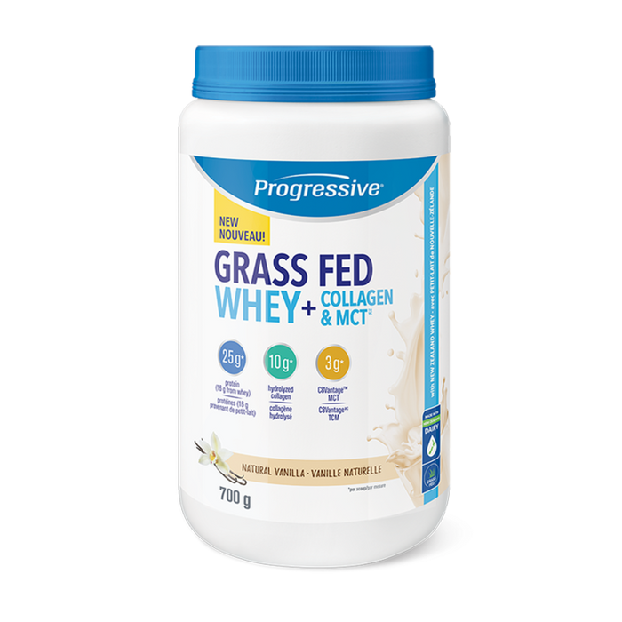 Progressive Grass Fed Whey 700g (20 Servings)