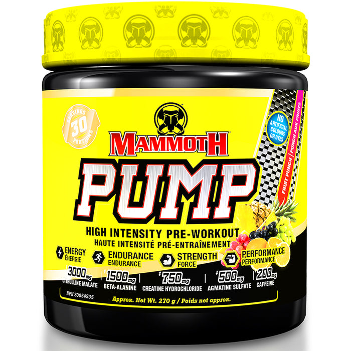 Mammoth Pump 270g (30 Servings)