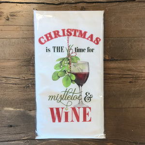 Christmas Mistletoe & Wine