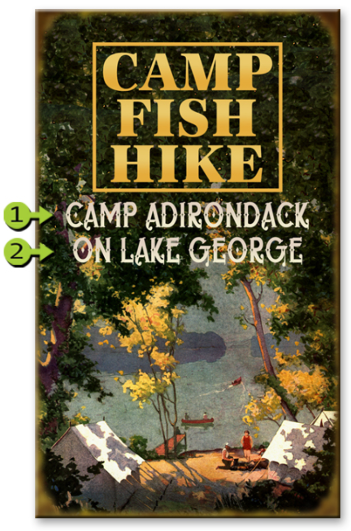 CAMP FISH HIKE