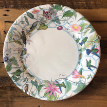 Load image into Gallery viewer, Hummingbird Trellis Paper Napkins + Plates