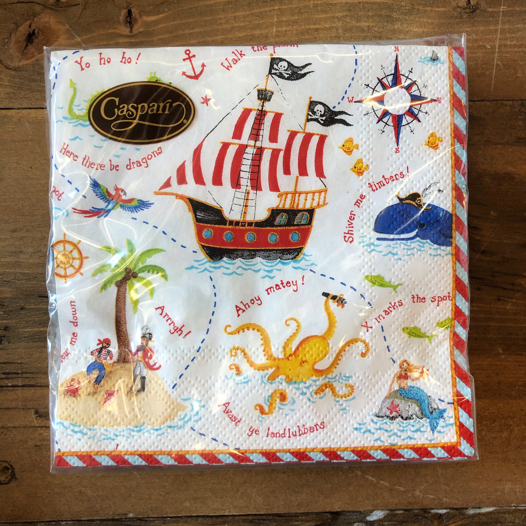 Yo Ho Ho! Pirate Paper Napkins