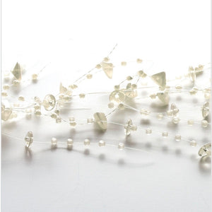 Ivory Pearl Bead Garland