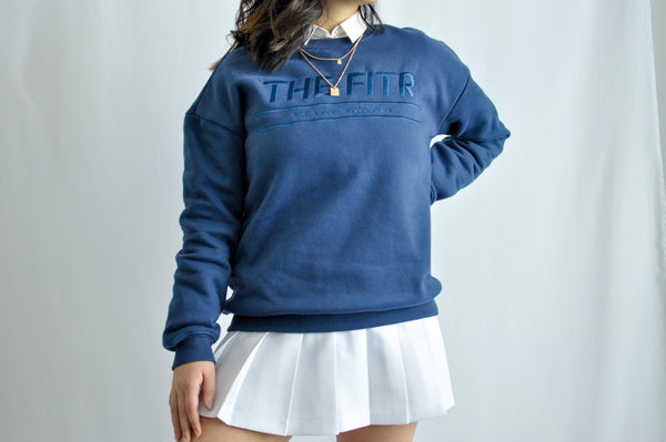 SEASON SWEATER - FULL LENGTH - SEA BLUE