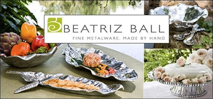 Beatriz Ball Fine Metalware