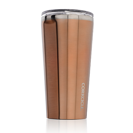 Brushed Copper Tumbler 16 oz. by Corkcicle