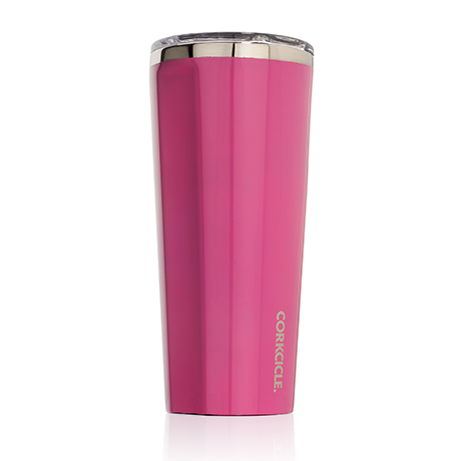 Gloss Pink Tumbler 24 oz. by Corkcicle