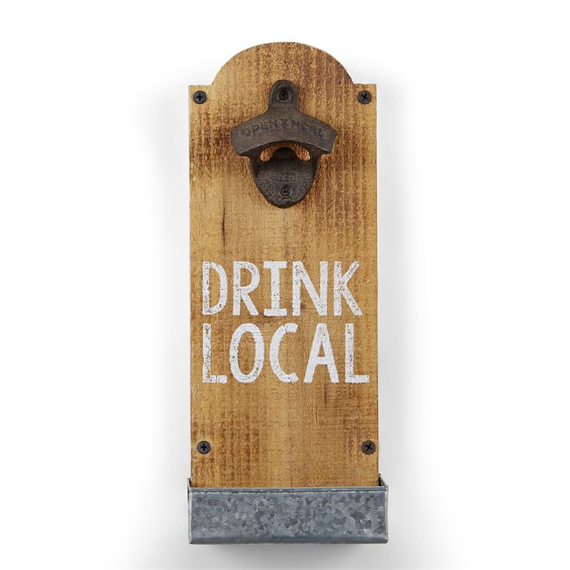 Drink Local Bottle Opener by Mud Pie