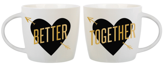 Ceramic Mug Set Boxed Better Together By Slant Collection