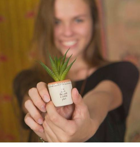 Succulent Keepsakes by Natural Life