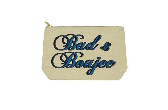 Bad & Boujee Makeup Bag By Twisted Wares