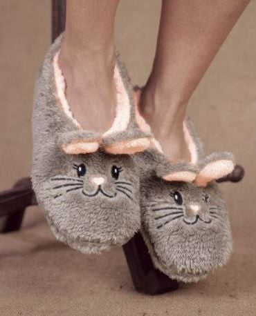 Snuggle Bunny Footies Slippers by Faceplant Dreams