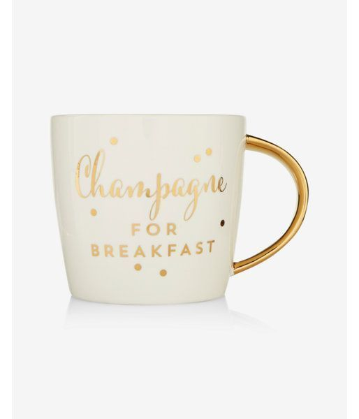 Champagne For Breakfast Mug By Slant