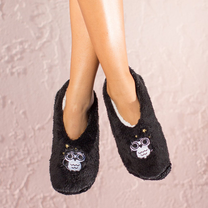 Night Owl Slippers By Faceplant Dreams Large