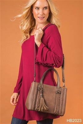 Fishtail Satchel By Simply Noelle