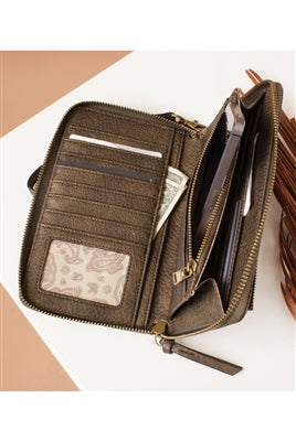 Fishtail Wallet By Simply Noelle-Sage