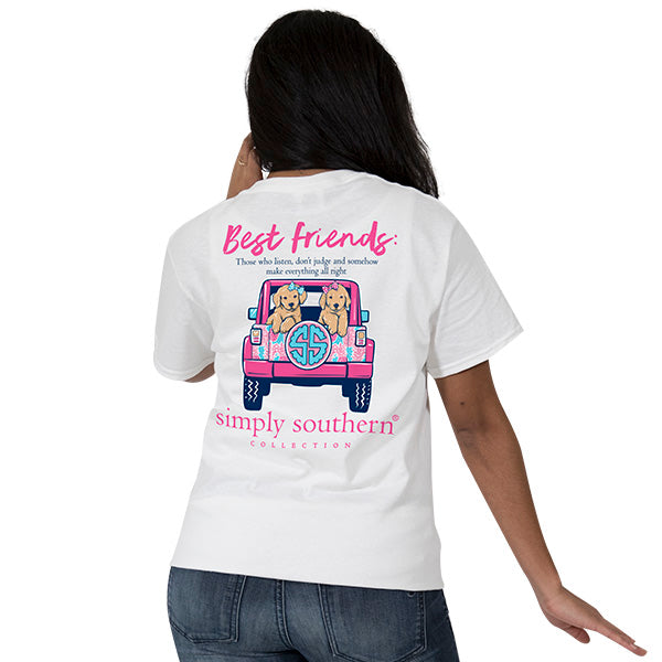 Best Friends Tee by Simply Southern