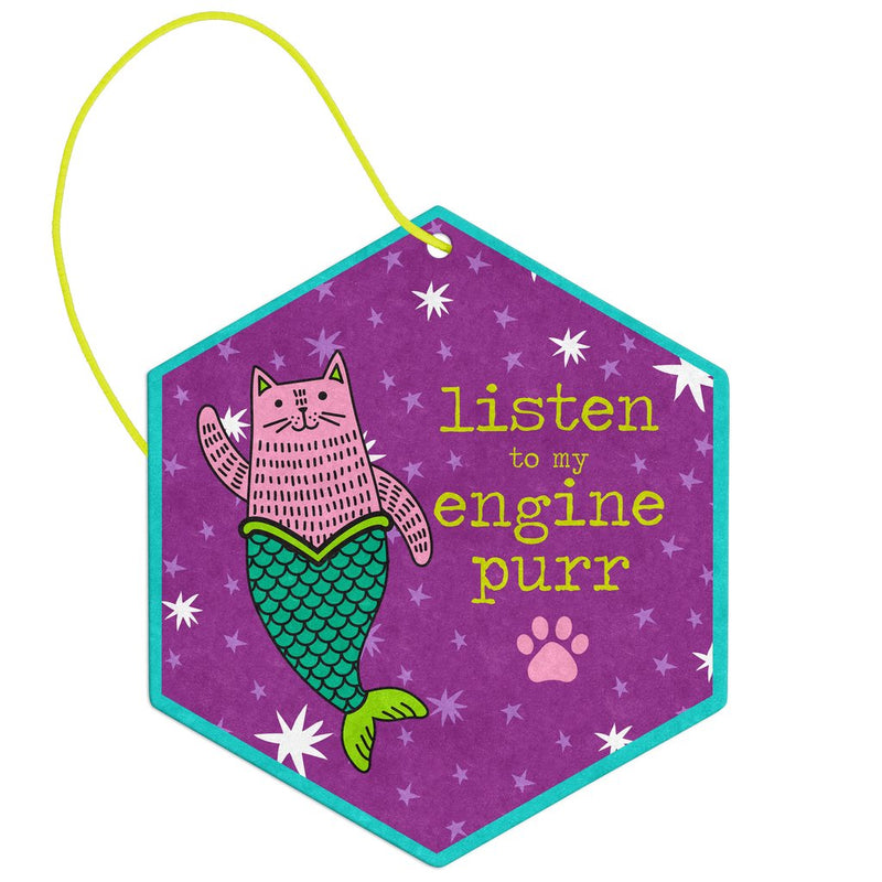 Cat Mermaid Air Freshener By Wit