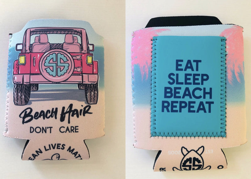 Beach Hair Koozie By Simply Southern
