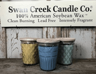 Glowing Garden Candle By Swan Creek