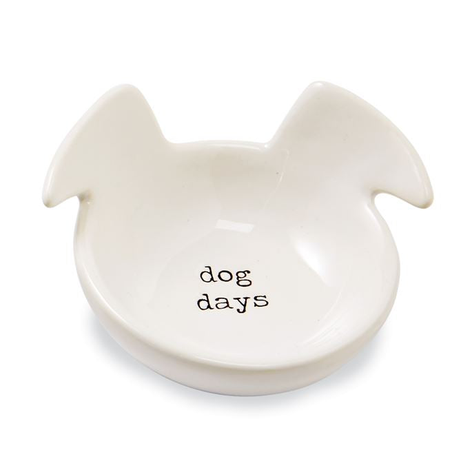 """Dog Days"" Trinket Dish By Mud Pie"
