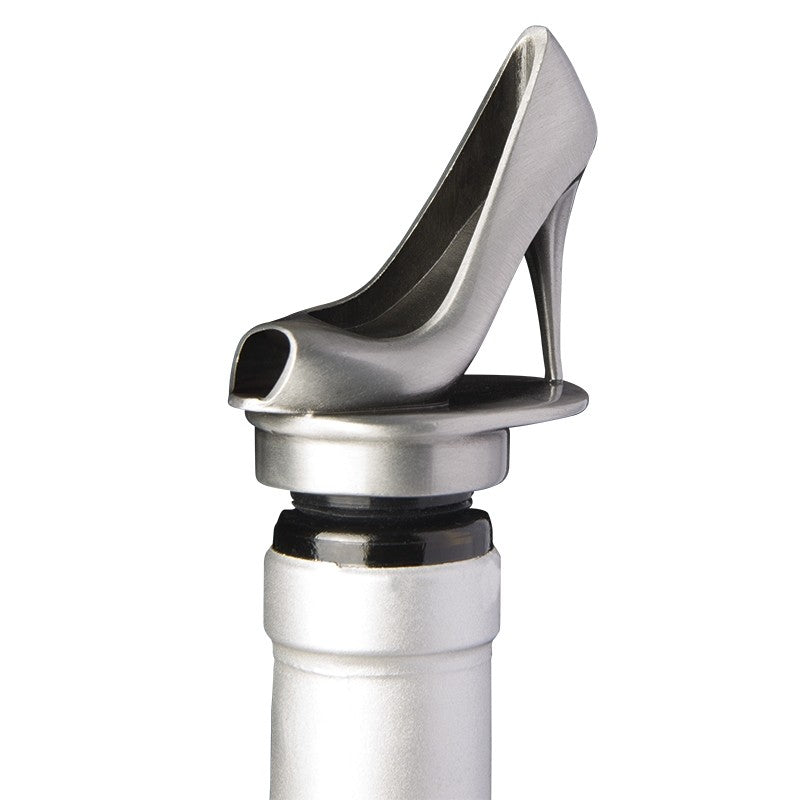 High Heel Wine Pourer By Chris Stuff