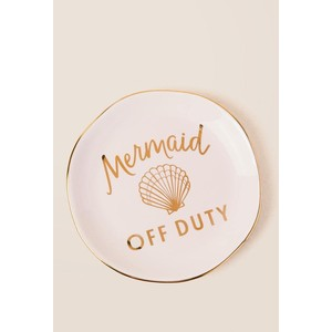 Mermaid Off Duty Trinket Tray By Slant