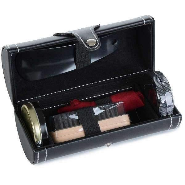 Black Shoe Shine Kit By Mad Men