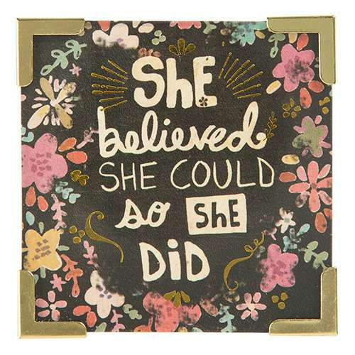 She Believed She Could So She Did Magnet By Natural Life