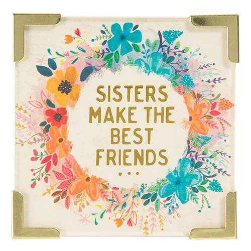 Sisters Make The Best Friends Magnet By Natural Life