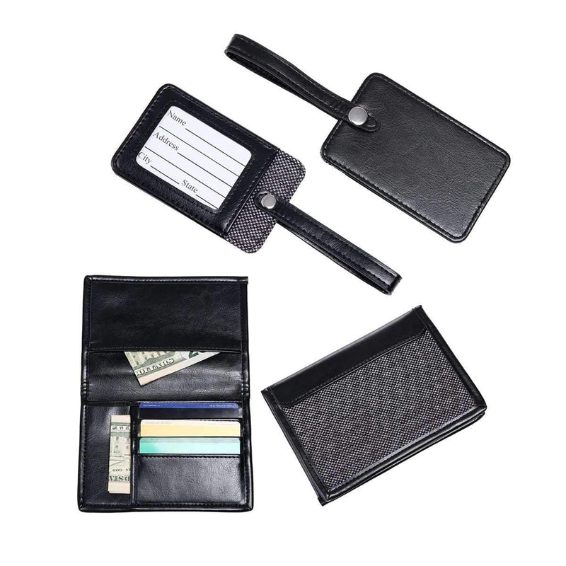 Passport And Luggage Tag Gift Set By Mad Men