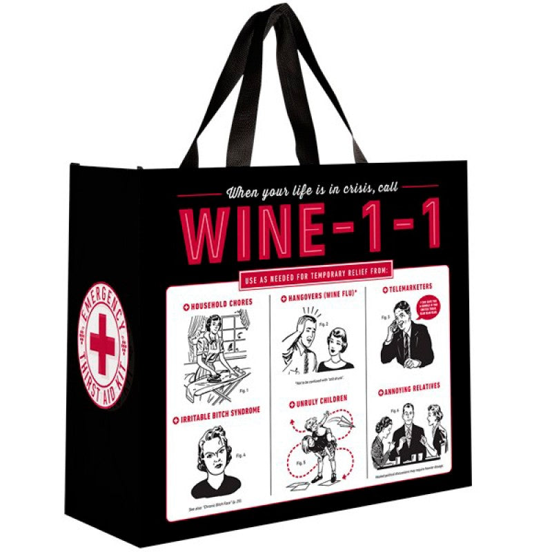 Large Wine 1 1 Bag By Chris Stuff