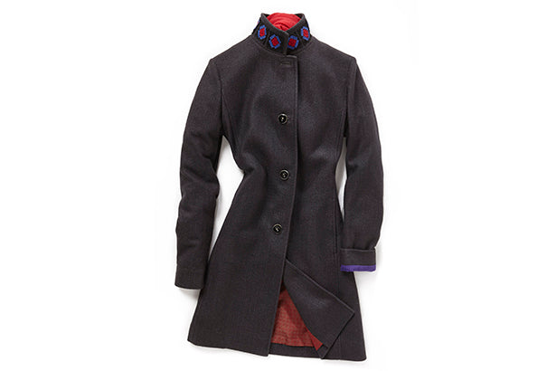 COLLEZIONE DONNA - AUTUNNO INVERNO 14/15 - The original cashmere fleece si evolve per interpretare il cappotto 'Walser'