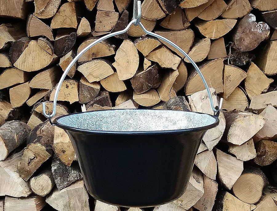 Enamel cooking pot 8lt
