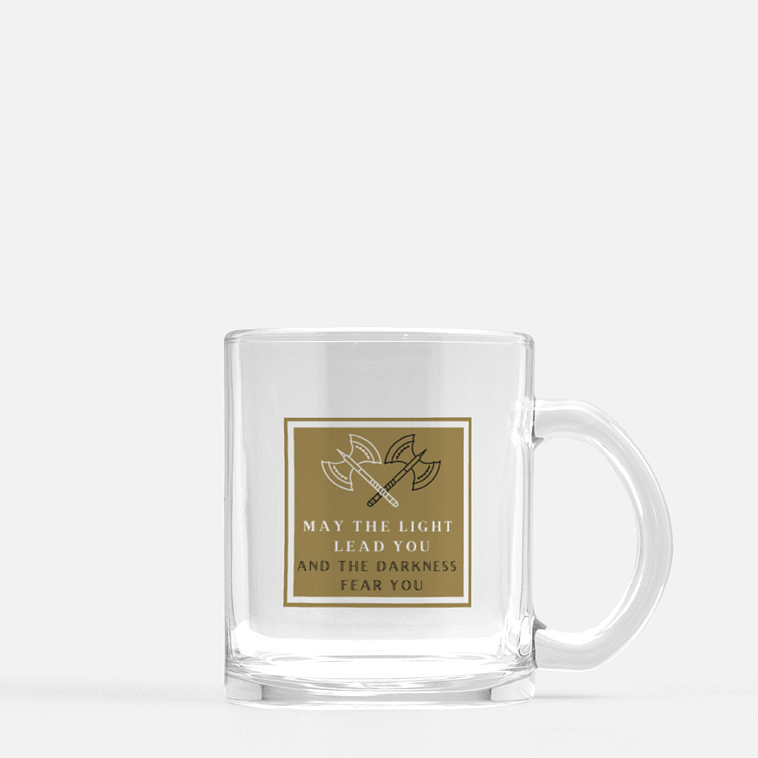 Light vs Darkness-Glass Mug