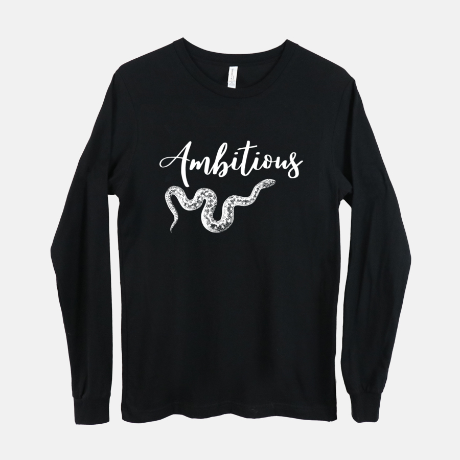 Ambitious-Long Sleeve Tee