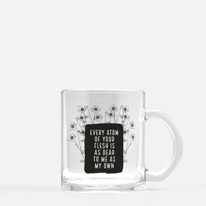 Every Atom Glass Mug
